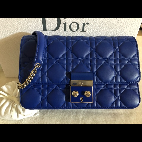d136f4fe46 Dior Bags | Christian Cannage Miss Promenade Pouch | Poshmark